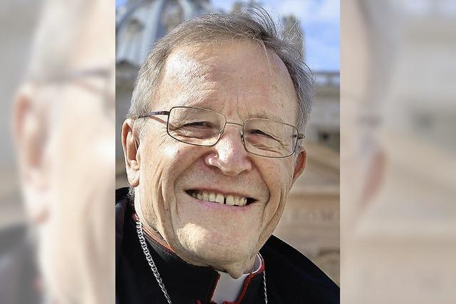 Walter Kasper: Der Senior in der Sixtinischen Kapelle