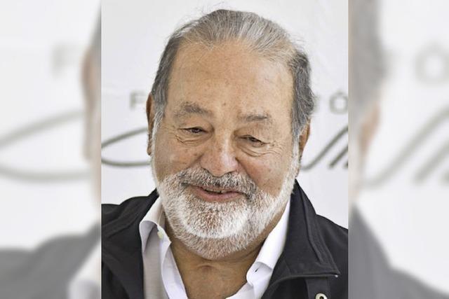 Der Mexikaner Carlos Slim ist der reichste Mensch der Welt