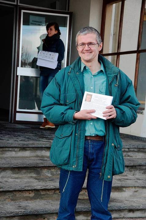 Christian Bärthel will jetzt Papst werden  | Foto: Axel Kremp