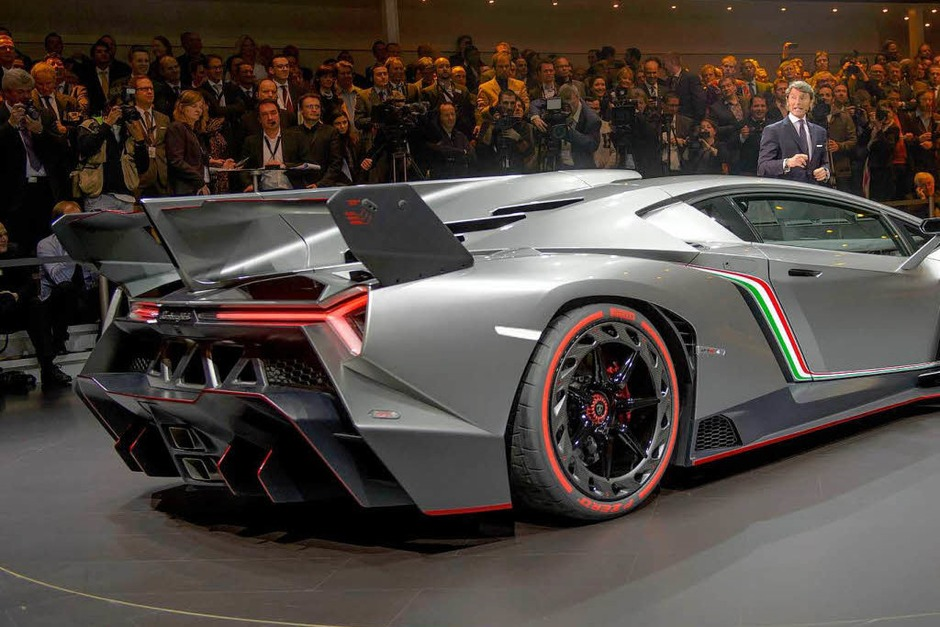Der neue  Lamborghini Veneno. (Foto: AFP)