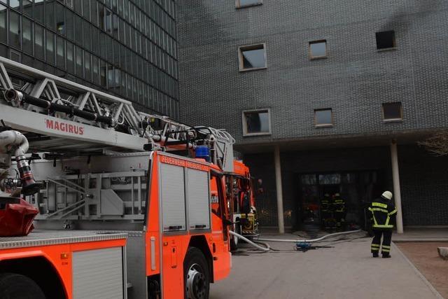 Brand im Kepler-Gymnasium – Schule evakuiert