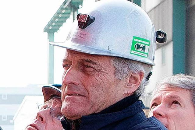 Verkehrsminister Ramsauer besucht Herrenknecht