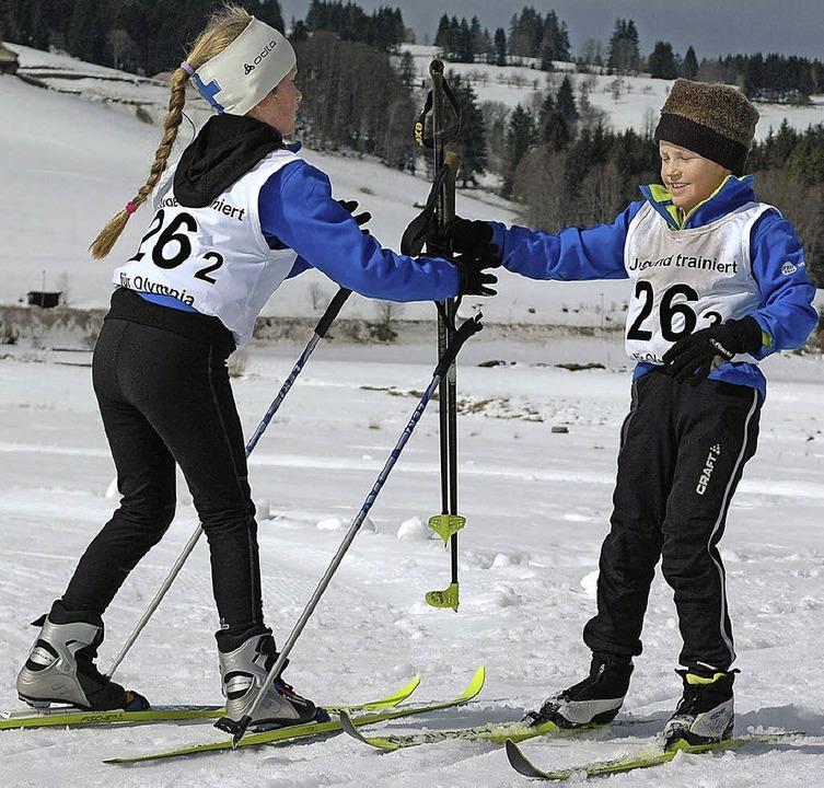 Altglashütten Reg Präs Finale 2013 der Grundchulen  | Foto: Annemarie Zwick