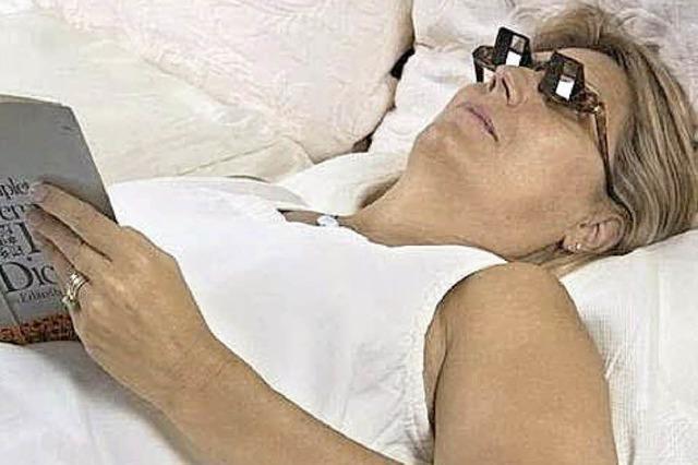 Hilfreiche Prisma-Brille: Knick in der Optik