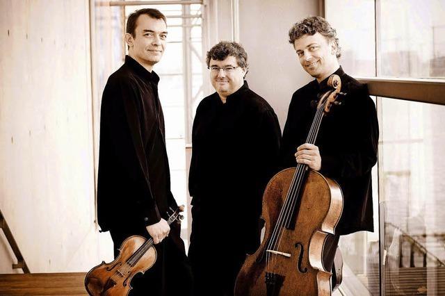 Schlosskonzerte Beuggen mit dem Trio Wanderer