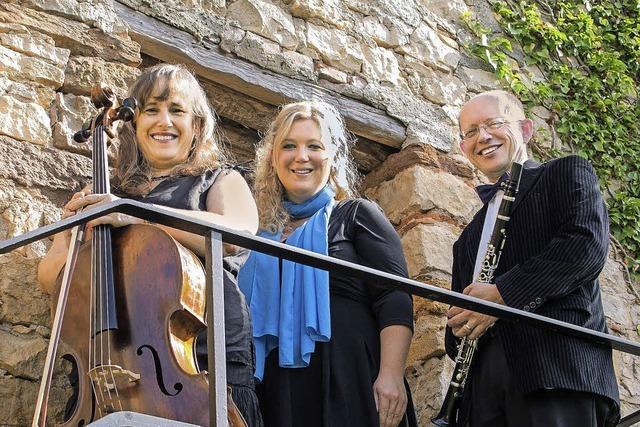 Das Trio Danzón spielt in der Kirche St. Agathe in Fahrnau