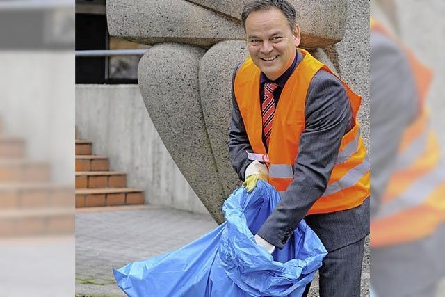 5600 wollen dem Müll eine Abfuhr erteilen