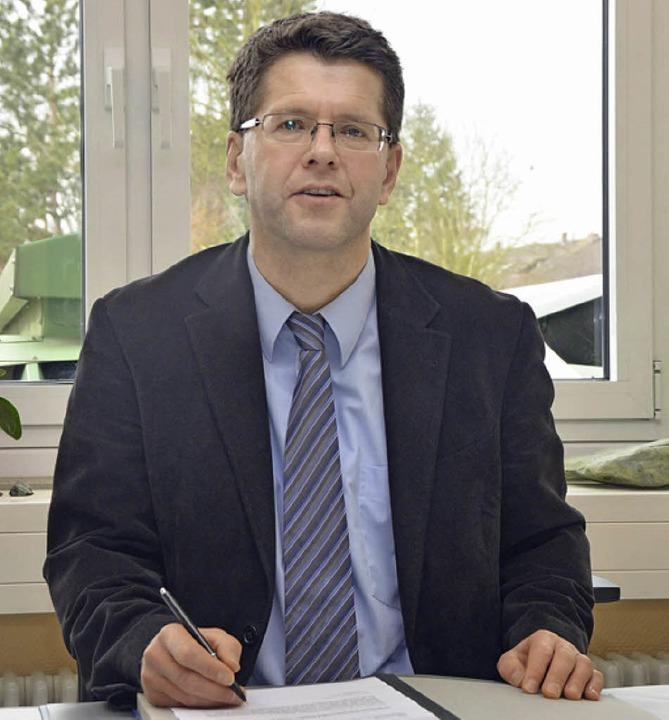 Christoph Wolk, Leiter der Hugo-Höfler-Realschule  | Foto: Claudia Müller