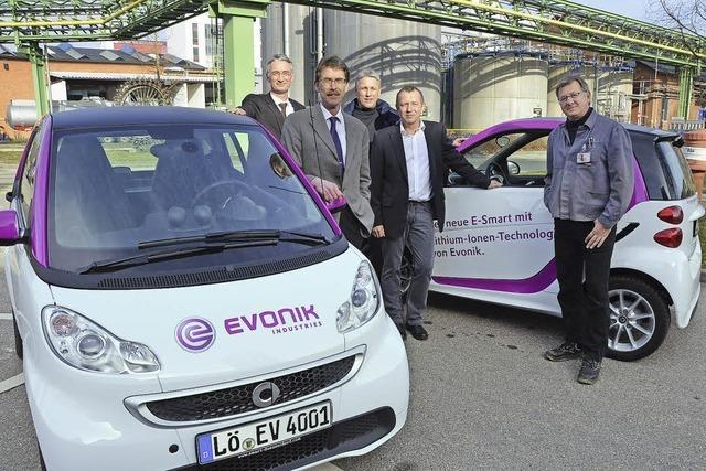Evoniks Elektroautos: Umweltfreundlich und super schick