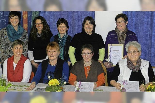 Landfrauen – ein lebhafter und sehr fleißiger Verein