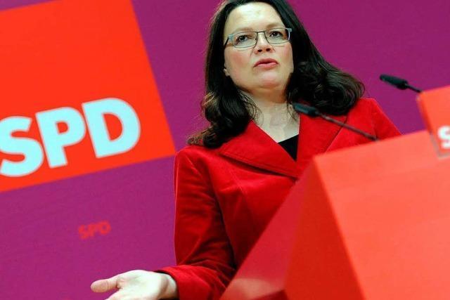 Die SPD hat sich für den Wahlkampf aufgestellt