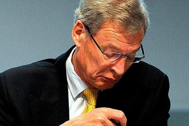 Der mächtige Gerhard Cromme verlässt Thyssen-Krupp
