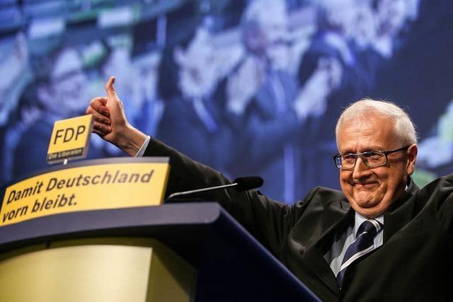 FDP setzt auf Führungsduo – Parteitag straft Prominenz ab
