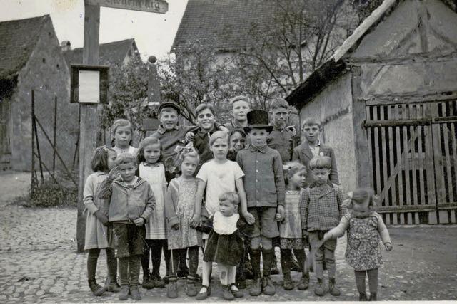 """Vortrag von Franz Schmidlin: """"Auggen-Hach und seine Menschen von 1940 bis heute"""""""