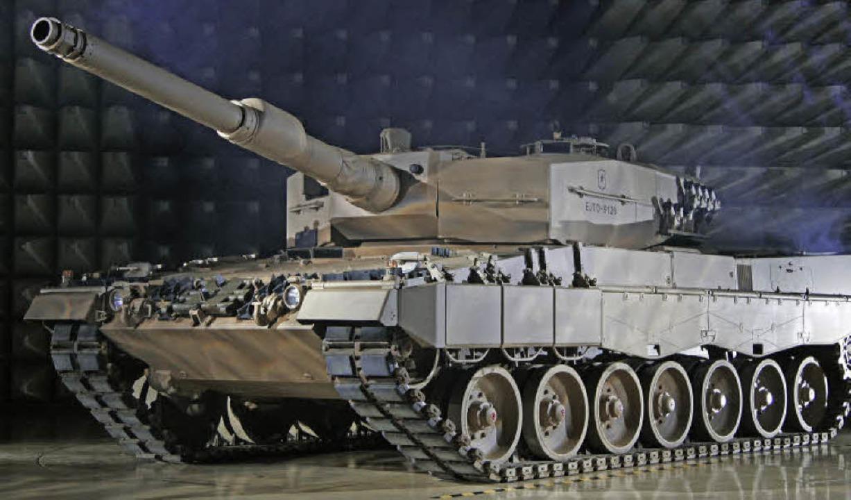 Müssen Rüstungsfirmen ihre Exporte erh...staatlicher Aufträge zu kompensieren?   | Foto: dapd