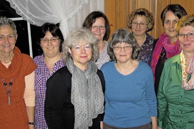Sechs neue Gesichter im Vorstand der Landfrauen