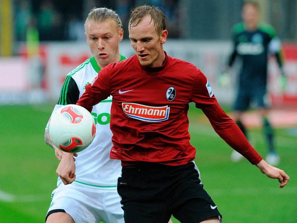 Jan Rosenthal wechselt vom SC Freiburg zu Eintracht Frankfurt.  | Foto: Meinrad Schön
