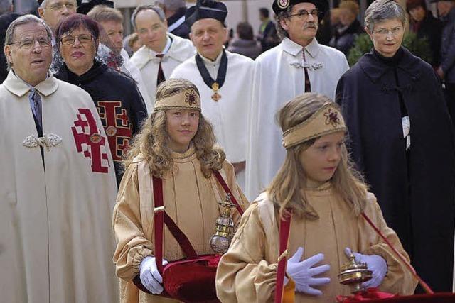 Ein Kirchenfest mit europäischem Anstrich