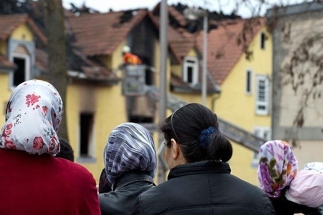 Mutter und sieben Kinder sterben bei Brand