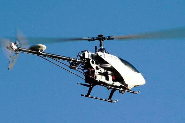 Hubschrauberballett im Miniaturformat