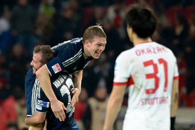 VfB verliert gegen den HSV: Die Schwaben schieben Frust