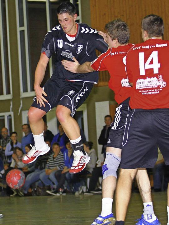 Dennis Zeiser  (TG Altdorf) erzielte sechs Treffer.  | Foto:  Peter Aukthun