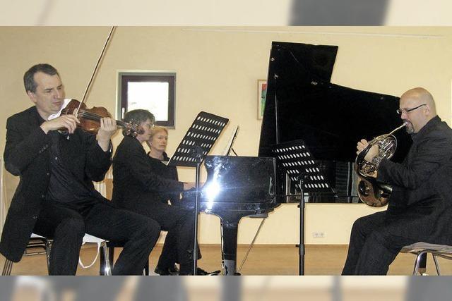 Ein fesselndes Hörerlebnis im Bruckwald-Saal