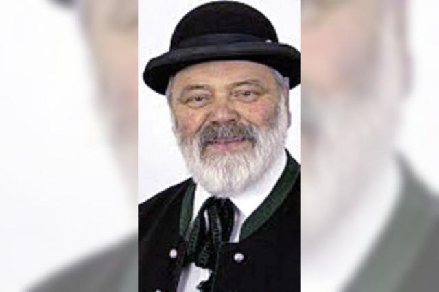 ZUR PERSON: Ehrennadel für Alfred Knauber