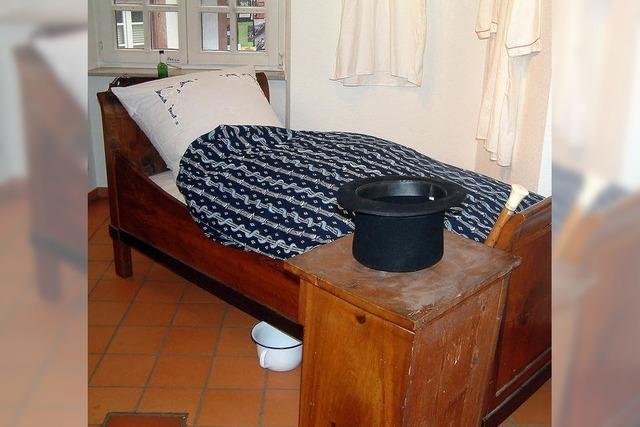 Wer hat in diesem Bett geschlafen?