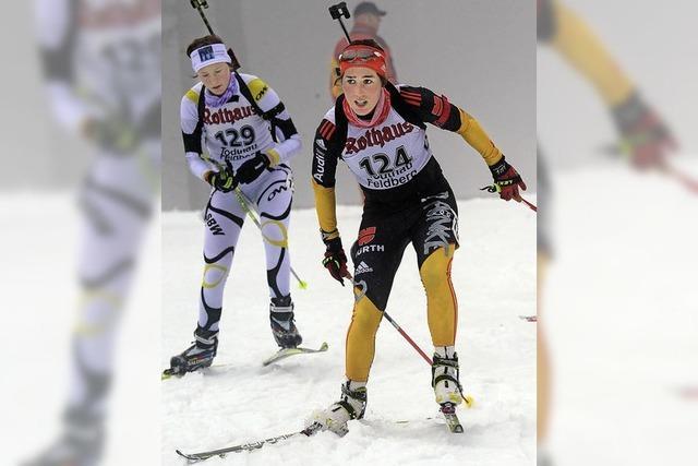 Helena Gnädinger zweimal Zweite
