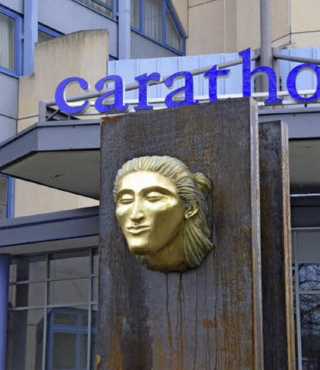 """Noch steht """"Bardo"""" allein,...h ein ganzer Skulpturenpark entstehen.    Foto: Jochen Fillisch"""