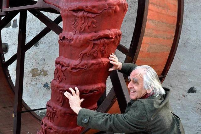 Interview mit Helmut Lutz über sein Kunstwerk