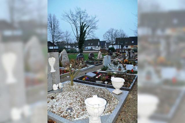 Umkirch hebt seine Friedhofsgebühren zum Teil drastisch an