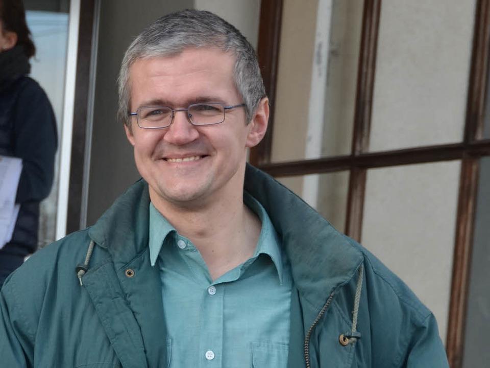 Christian Bärthel legt Einspruch ein.  | Foto: Axel Kremp