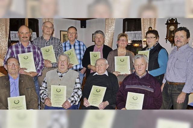 Sportverein dankt für Treue über Jahrzehnte