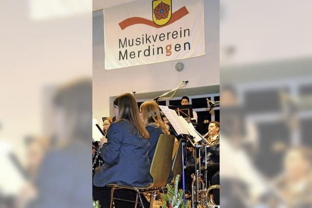 Erlös aus Festen füllt die Merdinger Musikerkasse