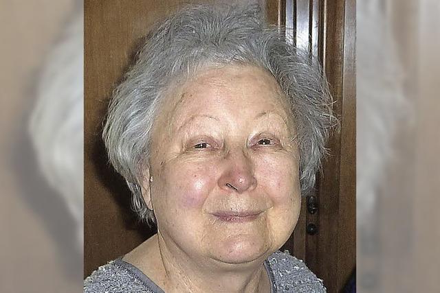 Margrit Haas wurde 85 Jahre