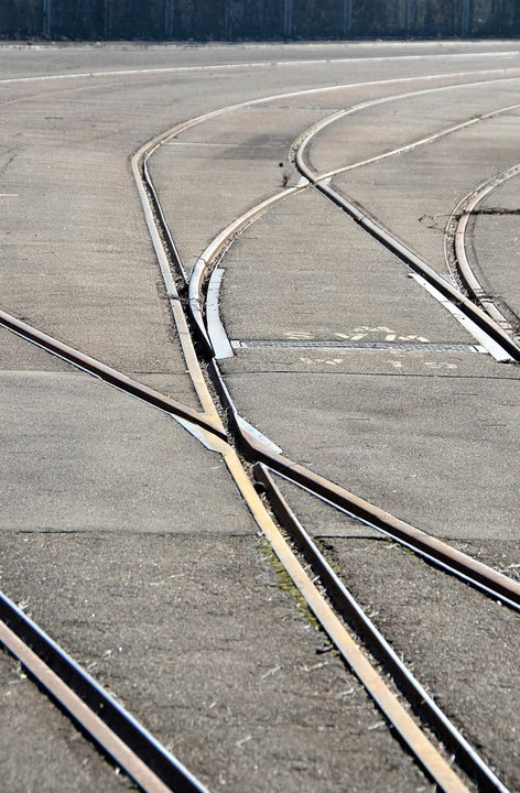 Wohin geht die Reise? Schienen auf dem BASF-Areal   | Foto: Ralf H. Dorweiler
