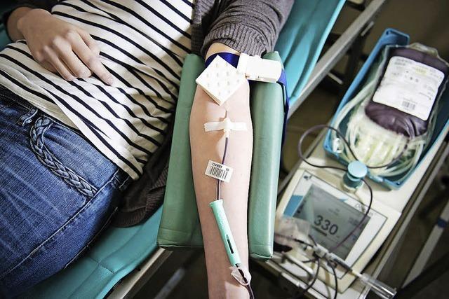 Blutspendetermin des DRK im Jubiläumsjahr