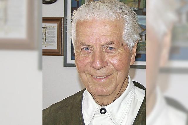 Altbürgermeister Richard Böhler feiert 85. Geburtstag
