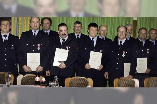 Feuerwehr blickt auf 2012 zurück