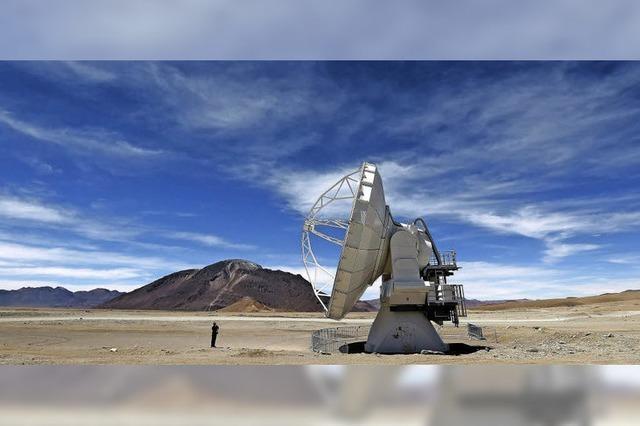 Das Super-Teleskop Alma ist in Betrieb gegangen
