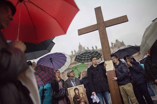 Mit Jorge Mario Bergoglio hatte kaum einer gerechnet