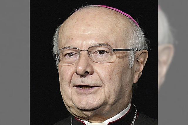 Zollitsch lobt die Wahl der Kardinäle
