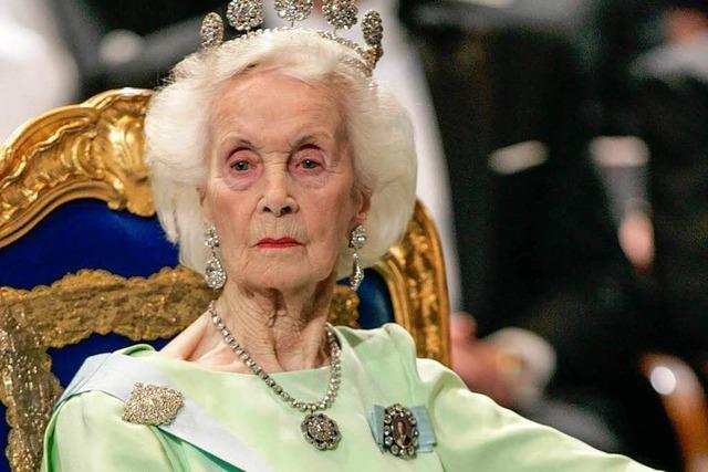 Schweden nimmt Abschied von gestorbener Prinzessin Lilian