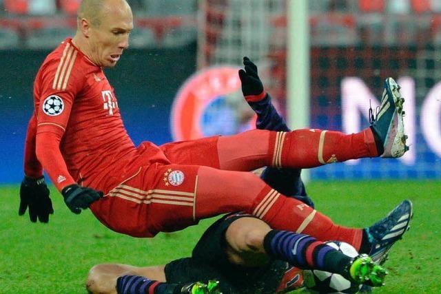 Bayern München stolpert ins Champions-League-Viertelfinale