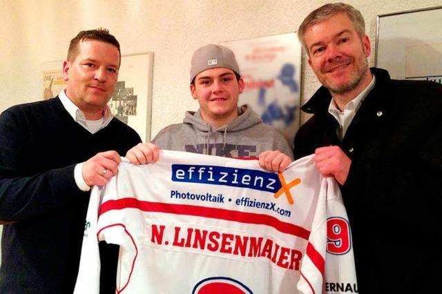 EHC verlängert Vertrag mit Nikolas Linsenmaier
