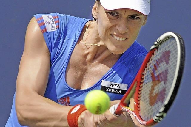Andrea Petkovic spielt in Straßburg