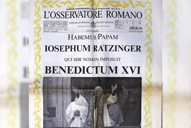 Papstwahl ist ein historisches Erlebnis