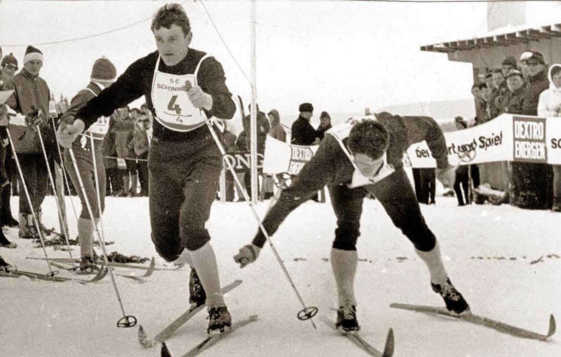 Der Marathonmann (links):   Bei vier O...ie SZ Brend jeweils über 50 Kilometer.  | Foto: BZ-Archiv